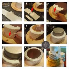 Pleated fondant tutorial