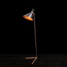 Peggy floor lamp - black -gong.co.uk