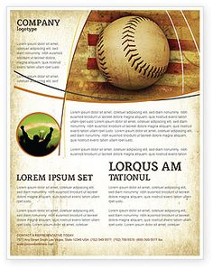 Camp Flyer  Baseball    Flyer Design Inspiration And
