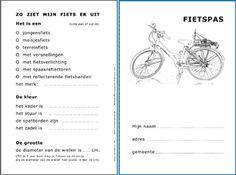 V.P.I. - Veilig op weg - Met de fiets - Fietspas Class Dojo, School, Kids, Heroes, Young Children, Boys, Children, Boy Babies, Child
