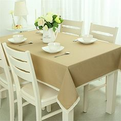 SNW Spring Style Solid Color Pastoral Style Tablecloth Rectangle Tablecloth Exquisite Lace Edge Shopping New World http://www.amazon.com/dp/B0123ZDUU6/ref=cm_sw_r_pi_dp_bsa6wb0SX92EY