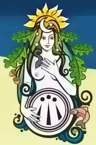 Danu Goddess