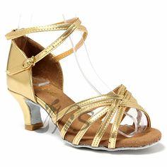 Sale 13% (12.33$) -  Women Fashion Ballroom Latin Tango Dance Shoes Soft Sole  High Heel  Latin Dancing Shoes