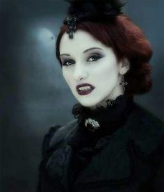Neo Victorian Gothic Vampire