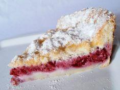 Prajitura rapida cu zmeura - CAIETUL CU RETETE Romanian Desserts, Raspberry Cake, Cakes And More, Vegetarian Recipes, Sweet Treats, Cheesecake, Deserts, Good Food, Snacks