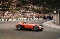 1956 GP de Monaco - Eugenio Castellotti - Lancia Ferrari D50