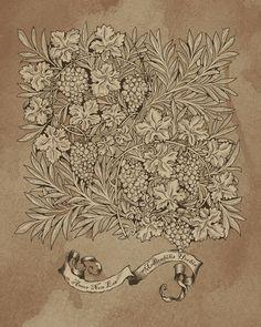 Amor non est medicabilis herbis - An-Stefaniya (Print)