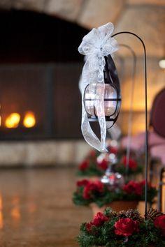 Wedding Ceremony Decor Winter