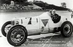 Indy 500 winner 1934: Bill Cummings  Starting Position: 10  Race Time: 4:46:05.200  Chassis/engine: Miller/Miller