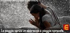 La pioggia...