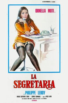 Arte Do Pulp Fiction, Pulp Fiction Book, X Movies, Good Movies, Vintage Movies, Vintage Posters, Cinema Posters, Movie Posters, Ornella Muti