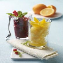Weight Watchers - Sinaasappel-limoensorbet - 0pt