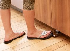install a foot pedal for your sink to save water