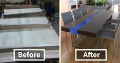 I Made A Wooden Table That Lights Up When Someone Enters A Room | Bored Panda