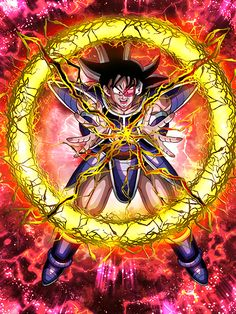 """[The Fearsome Tree of Might] Turles """"I've been eating the fruit of the Tree of Might! Do you think you can defeat me?"""""""