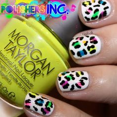 Follow this step by step How-to and learn to create amazing colorful leopard print nail art to make your manicure more stunning. Grab these products to recreate.