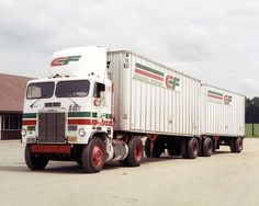 Consolidated Freightways truck