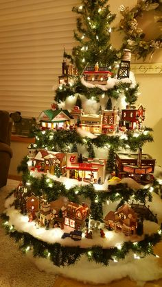 Would love to have this to display my Christmas village. | Holiday ...