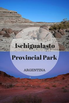 Valle de la Luna is located alongside Talampaya National Park in Argentina's northwestern desert region. Here you can view unique rock formations and petrified fossils from the Triassic Era.