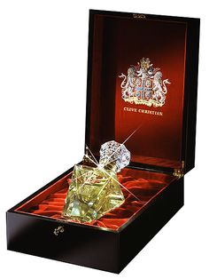 "clive-christian-no1-imperial-majesty ... Clive Christian also produced 10 of the most expensive bottles containing the most expensive perfume on earth – ""No. 1 Imperial Majesty"". Valued at over $215,000.00, each of the 10 bottles is made of Baccarat Crystal and inset with a white diamond on the neck."