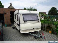 """Caravan """"Hobby"""" 420 bouwjaar 1990 - Te koop"""