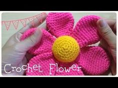 Çiçek örgü ve tığ işi Amigurumi - YouTube.