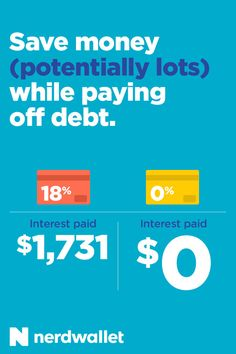 You can climb out of credit card debt with a 0% intro period balance transfer card.