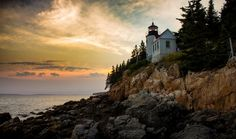 Acadia National Park Acadia is the oldest national park in the East and covers the majority of Downeast Maine's Mount Desert Island and a few surrounding areas. Pictured above is the Bass Harbor Lighthouse, on the southern tip of MDI.  Photo: Chris Potako  --  30 of the best views in the US national park system - Matador Network