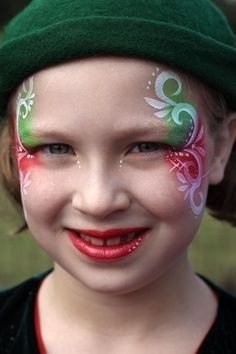 christmas facepaint - Google Search