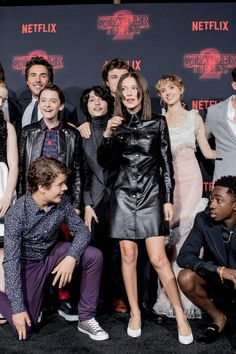 Stranger Things 2 Premiere and they all look amazing!!!