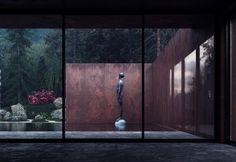 Sergey Makhno firma una casa audace e lineare a contatto con la natura