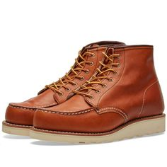 "Red Wing Women's 3375 Heritage 6"" Moc Toe Boot (Oro-Legacy) 