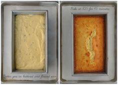 Rosemary Scented Lemon Pound Cake with Tart Lemon Glaze from http://www.MisterMartha.com
