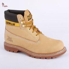 CAT Caterpillar Colorado Bottes Chaussures P717694 Ginger Brown, Caterpillar Herren Schuhe:44
