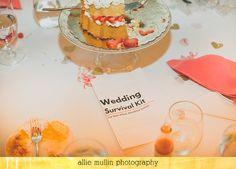 Wedding Survival Kits - essential for a kid-friendly wedding! A Very Durham Wedding — Nerding Abroad