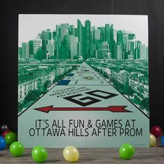 Your guests will love posing for pictures in front of our Monopoly Photo Background! This freestanding cardboard photo background features a Monopoly board design. Monopoly Themed Parties, Monopoly Party, Monopoly Board, Board Game Themes, Board Games, Balloon Arch Prices, Homecoming Themes, Dinosaur Games, Game Night