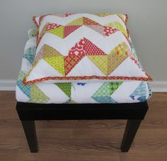HST pillow (and quilt)