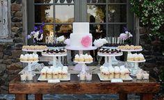 cupcake station / dessert bar
