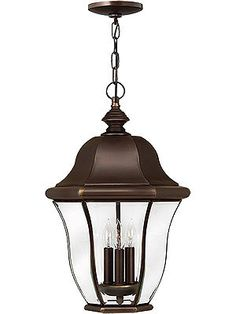 Monticello Hanging Entry Light in Copper Bronze   House of Antique Hardware