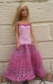 Ravelry: Barbie Prom Dresses pattern by linda Mary