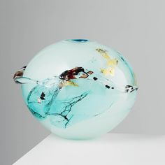 Submerged Buoys by Laura Smith Cast Art, Glass Artwork, Eclectic Design, Interior Accessories, Hand Blown Glass, Interior Decorating, Ceramics, Sculpture, Contemporary
