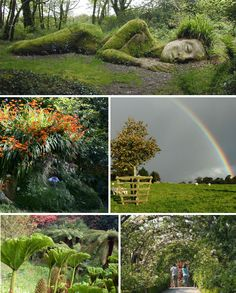 The Lost Gardens of Heligan, Mevagissey, UK. A part of the Heligan estate in Cornall, England, http://www.mevagissey.net/heligan.htm