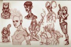 bic sketch