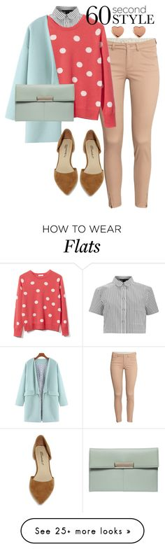 """""""60 Second Style"""" by littlehamstr on Polyvore featuring H&M, Marc by Marc Jacobs, Equipment, Ted Baker, Dorothy Perkins, Breckelle's and sweaterweather"""