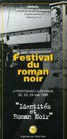 1ère édition Festival international du roman noir/FIRN de Frontignan la Peyrade (34113) : 22-24/05/1998