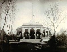 Kiosco Morisco recién trasladado a Santa María La Ribera ,1910