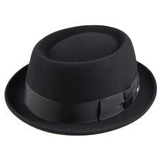 Bailey Hats Darron Crushable Pork Pie Hat - Black. Sharp Dressed ManWell  Dressed MenMens Fashion ... e532f405f9be