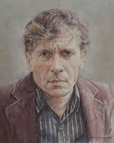 Gerard Reve (14 december 1923 -  8 april 2006) Portret door Arjan van Gent