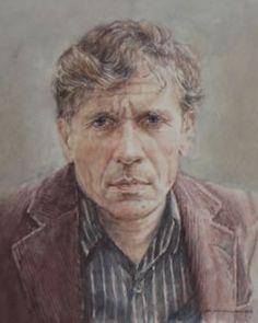 Gerard Reve (14 december 1923 -  8 april 2006) Portret door Arjan van Gent