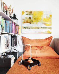 vardagsrum, love the painting